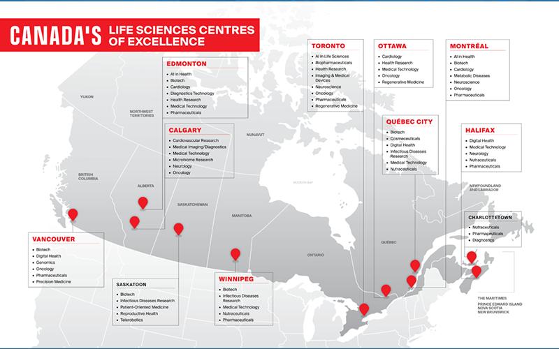 Canada Represents Largest International Delegation at BIO DIGITAL 2021 Signaling New Era for Biotech Sector
